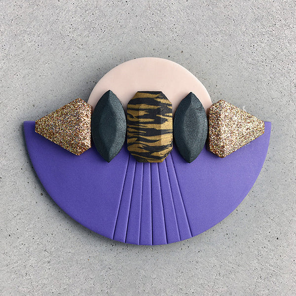 Siena Hair Comb - Ultra Violet