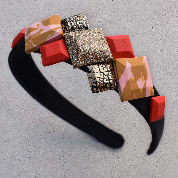 Checkmate Headband - Let's Get Festive