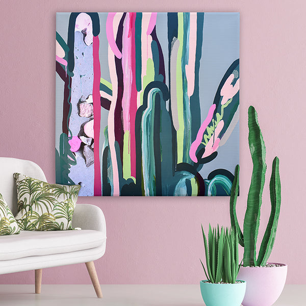 Urban Cacti 1 - Original Art