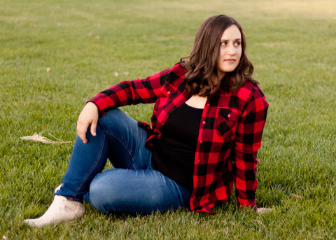 Buffalo Plaid Button Up
