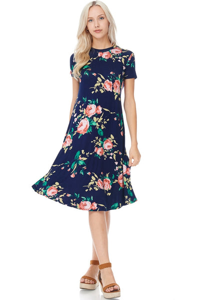 Floral Swing Dresses