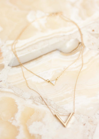 Dainty Geometric Necklace