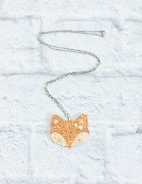 Cute Wood Animal Necklace Sets