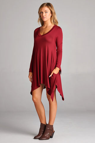 Trapeze Pocket Tunic
