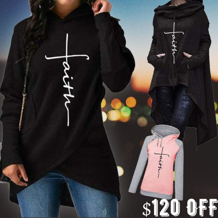 3 in 1 Bundle - Faith - Chic Designer Pullovers Just Superb Free Shipping
