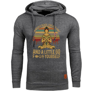 Alvis - Im Mostly Peace Love And Light... Hoodie For Him Hoodie Just Superb Free Shipping