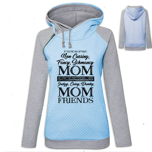 Amaya - If Your An Uptight Non Cussing Fancy Schmancy... Hoodie Blue / S (US XXS) (UK XS) Hoodie Just Superb Free Shipping