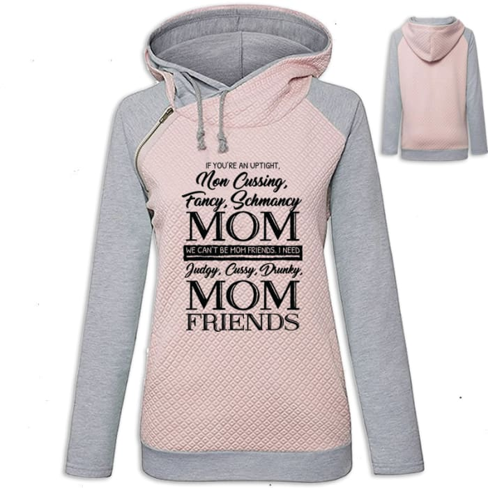 Amaya - If Your An Uptight Non Cussing Fancy Schmancy... Hoodie Pink / S (US XXS) (UK XS) Hoodie Just Superb Free Shipping
