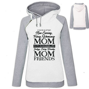 Amaya - If Your An Uptight Non Cussing Fancy Schmancy... Hoodie White / S (US XXS) (UK XS) Hoodie Just Superb Free Shipping