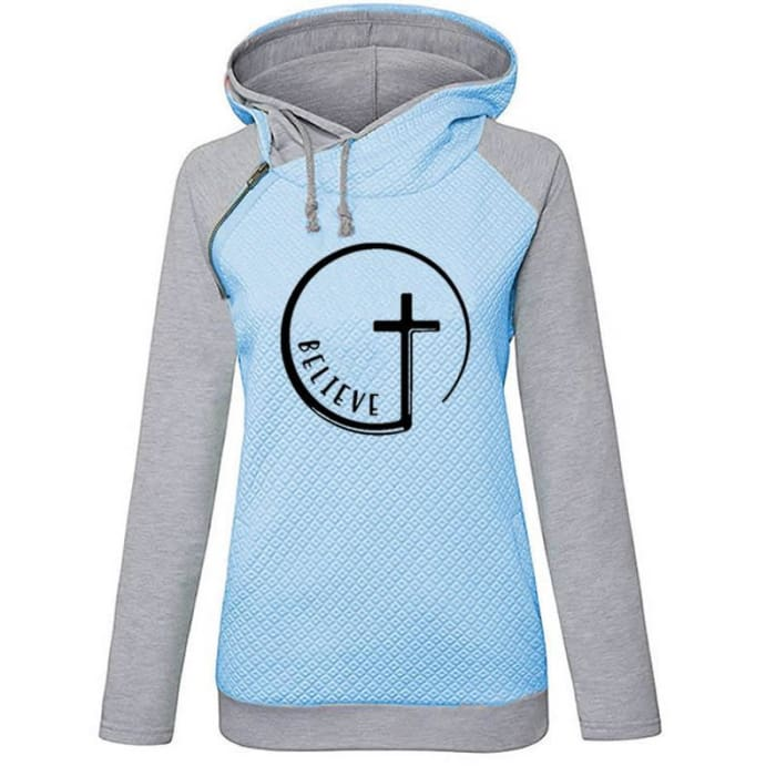 Believe - Gorgeous Faith Hoodie For Her Hoodie Just Superb Free Shipping