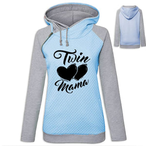 Chelsea - The Mom Of Twins Hoodie Blue / S (US XXS) (UK XS) Hoodie Just Superb Free Shipping