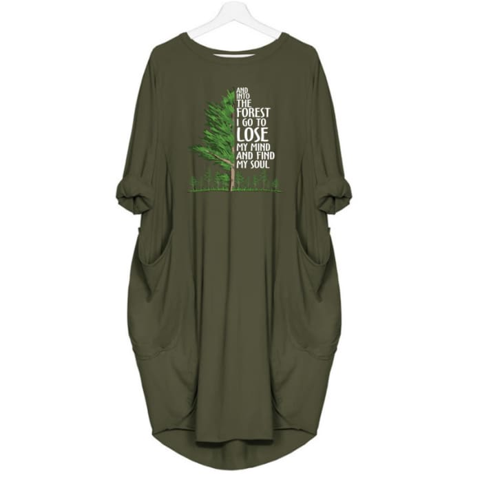 Clementine - And Into The Forest I Go To Lose My Mind... Dress For Her Green / S (4-6 US) (8 UK) Just Superb Free Shipping