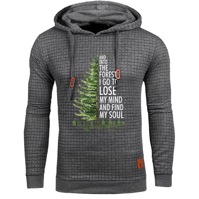 Conall - And Into The Forest I Go To Lose My Mind... Hoodie Gray / S (US XXS) (UK XS) Hoodie Just Superb Free Shipping