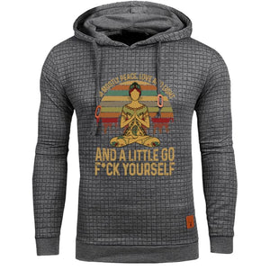 Egon - Im Mostly Peace Love And Light... Hoodie For Him Hoodie Just Superb Free Shipping
