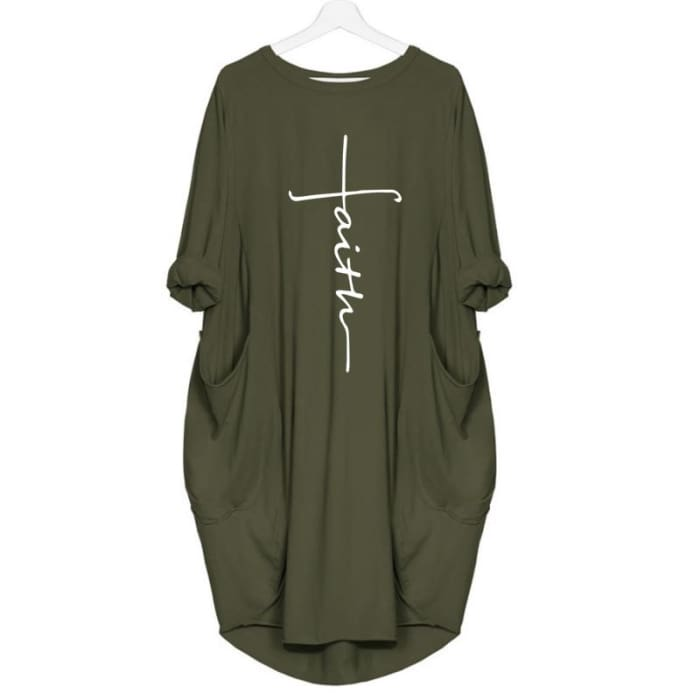 Elisha - Chic Designer Dress For Her Green / S (4-6 US) (8 UK) Just Superb Free Shipping