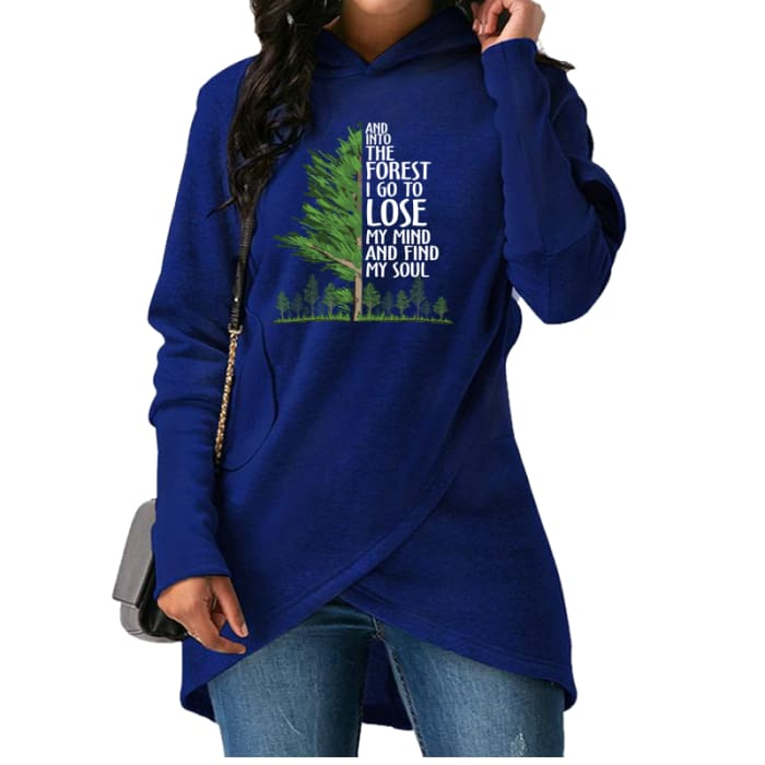 Faerie - And Into The Forest I Go To Lose My Mind... Hoodie Black / S (US XXS / UK XS) Hoodie Just Superb Free Shipping
