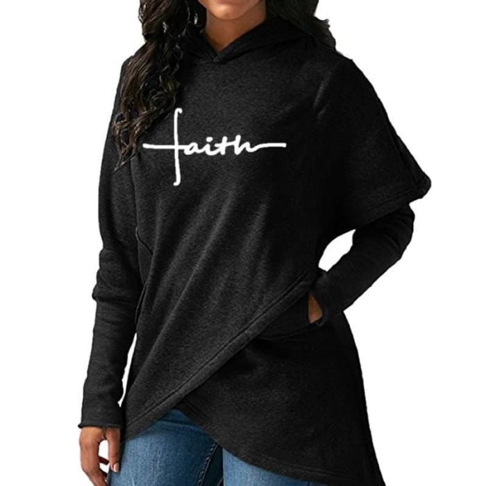 Faith - Chic Designer Pullover For Her Just Superb Free Shipping