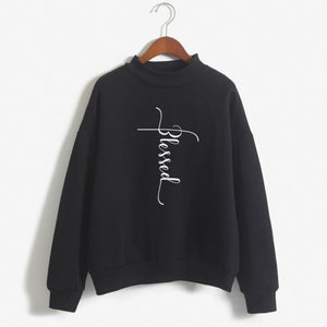 Hannah - Blessed Sweater For Her Black / S (US XXS / UK XS) Just Superb Free Shipping