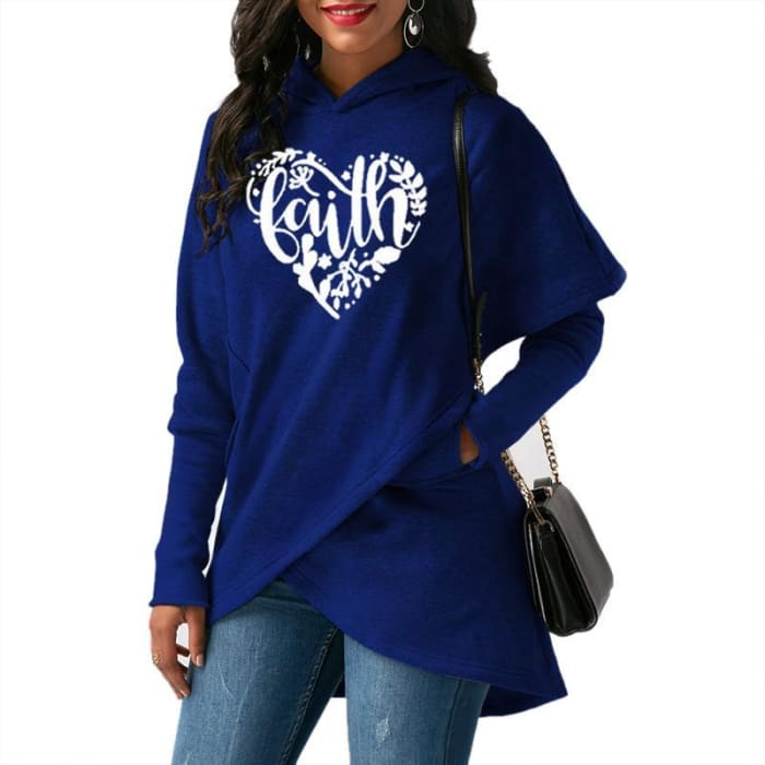 Heart - Chic Faith Designer Pullover For Her Just Superb Free Shipping