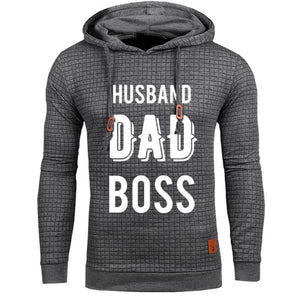 James - Husband Dad Boss Hoodie Hoodie Just Superb Free Shipping