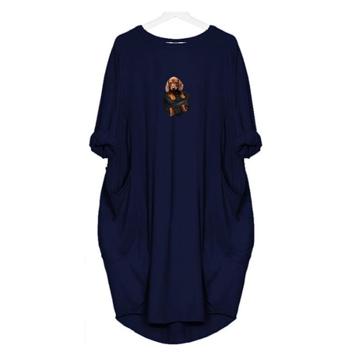 LilBear - Dress For Her Blue / S (4-6 US) (8 UK) Just Superb Free Shipping