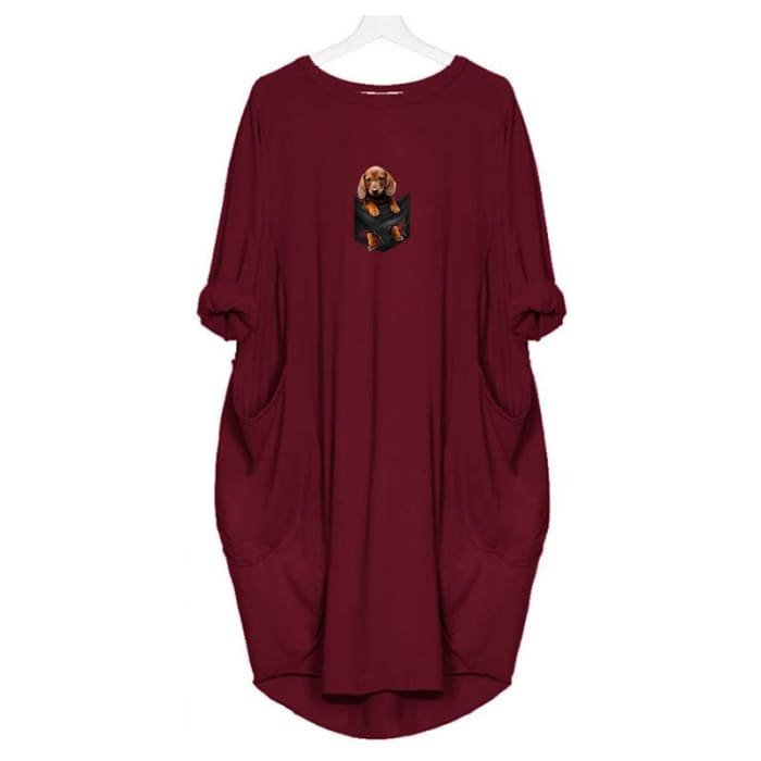 LilBear - Dress For Her Red / S (4-6 US) (8 UK) Just Superb Free Shipping