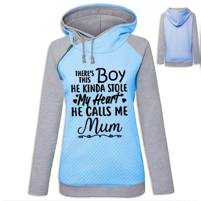 Malove - Beautiful Hoodie For Her (UK Mum) UK Blue / S (US XXS) (UK XS) / Girl Hoodie Just Superb Free Shipping