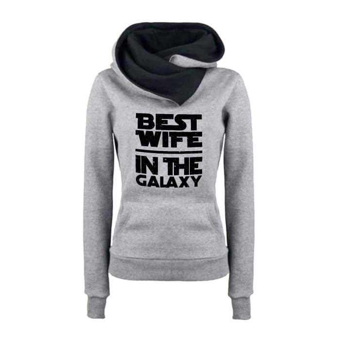 Margrethe - Best Wife In The Galaxy Hoodie For Her Just Superb Free Shipping
