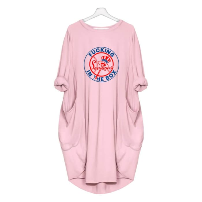 Mystic - Fucking Savages In The Box Dress For Her Pink / S (4-6 US) (8 UK) Just Superb Free Shipping