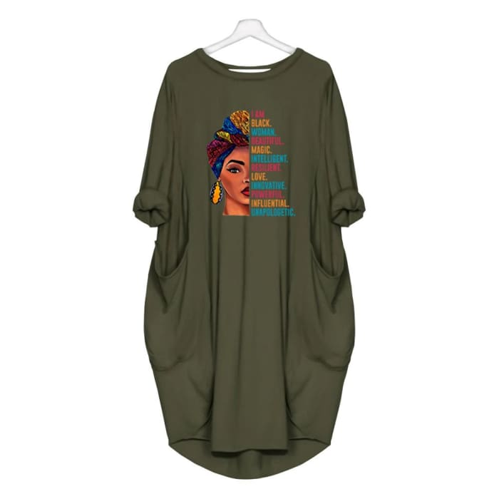 Sarabi - I Am Black Woman... Dress For Her Green / S (4-6 US) (8 UK) Just Superb Free Shipping
