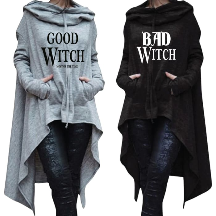 Shevil - Bundle Good Witch - Bad Witch Longtail Hoodies Hoodie Just Superb Free Shipping