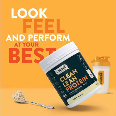 Nuzest Clean Lean Protein the best plant based protein in Singapore