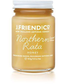 JFriend New Zealand Honey - Rata Honey