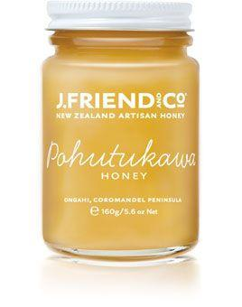 JFriend New Zealand Honey - Pohutukawa Honey