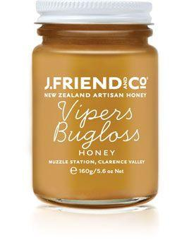 JFriend New Zealand Honey - Vipers Bugloss Honey