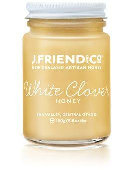 JFriend New Zealand Honey - White Clover Honey