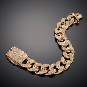 19mm Cuban ICE Bracelet
