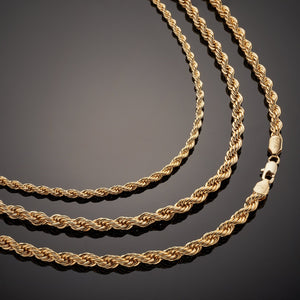 Cuban ROPE Set (x3 Necklaces)