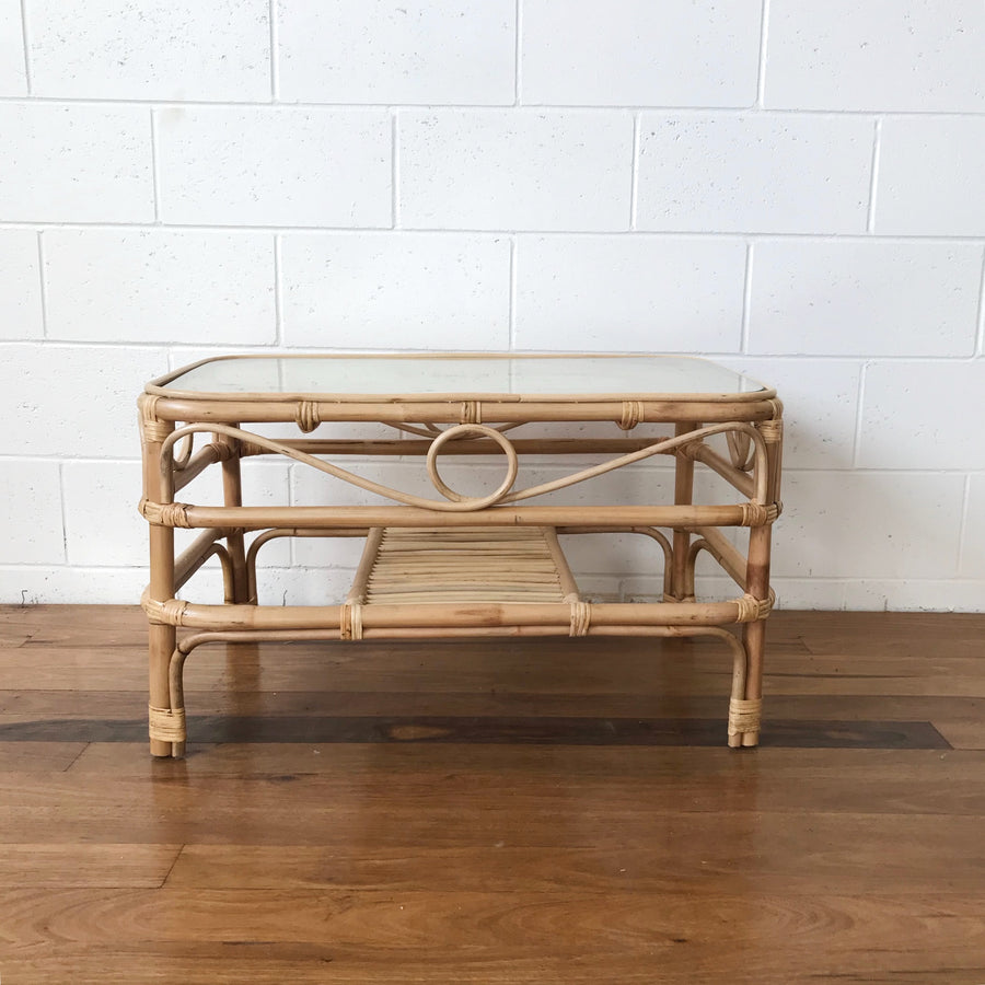 Aysun Natural Rattan Coffee Table