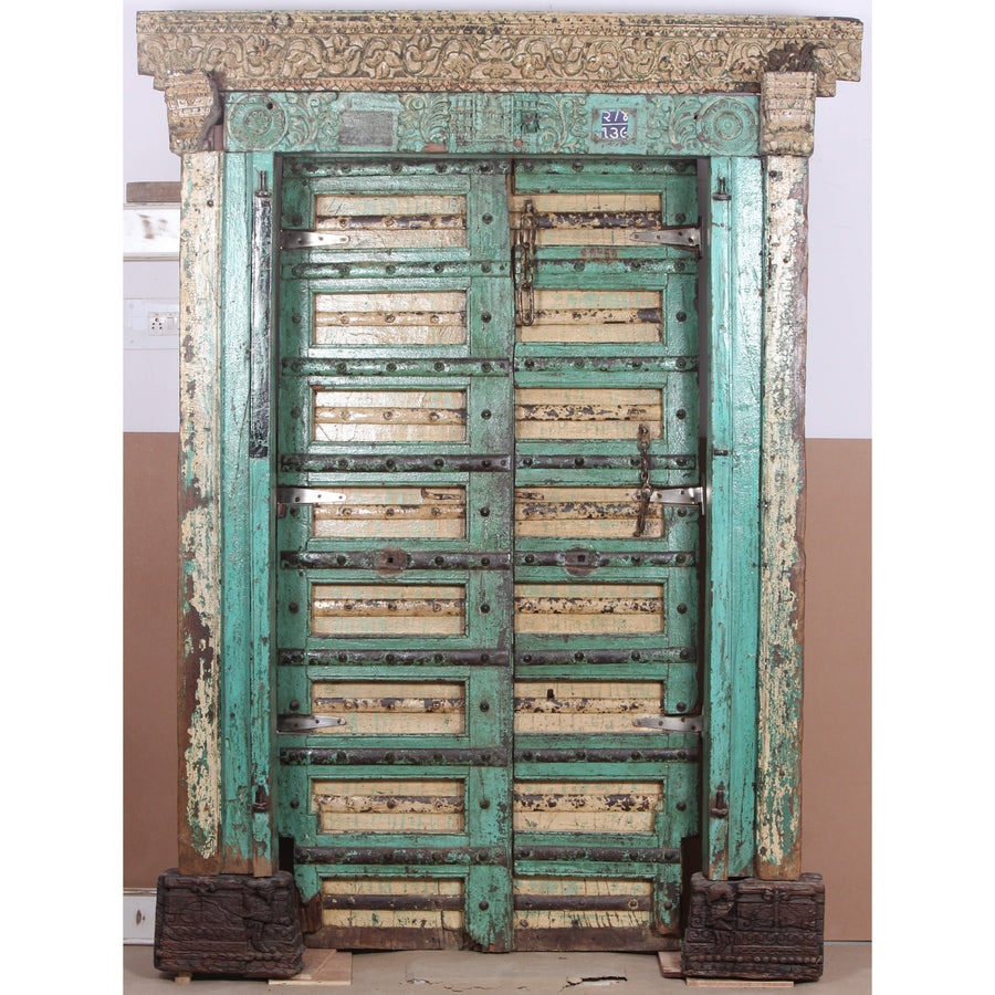 Badal Framed Indian Timber Door