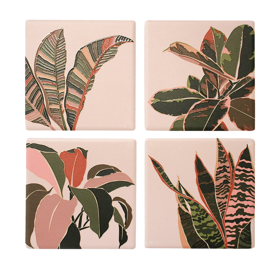 Balmy Leaves Coasters