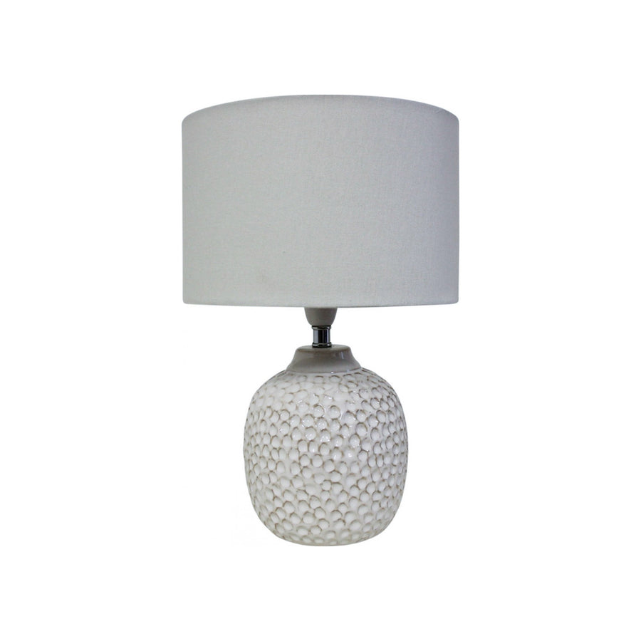 Coral White Lamp
