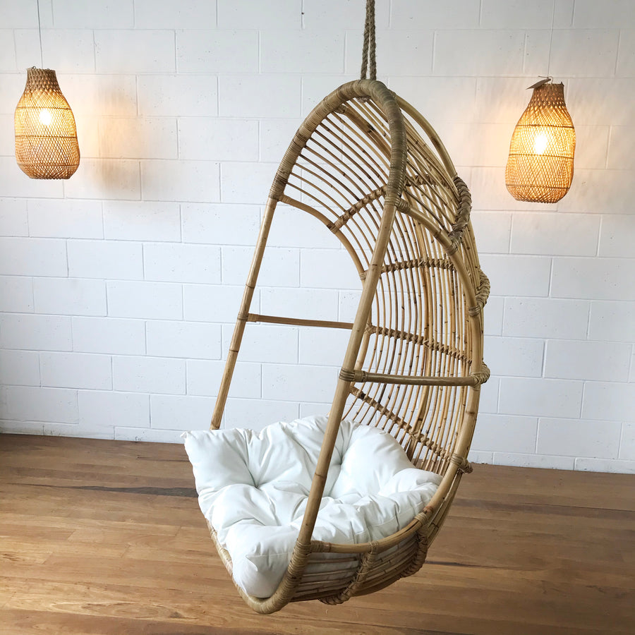 Drift Single Cane Hanging Chair