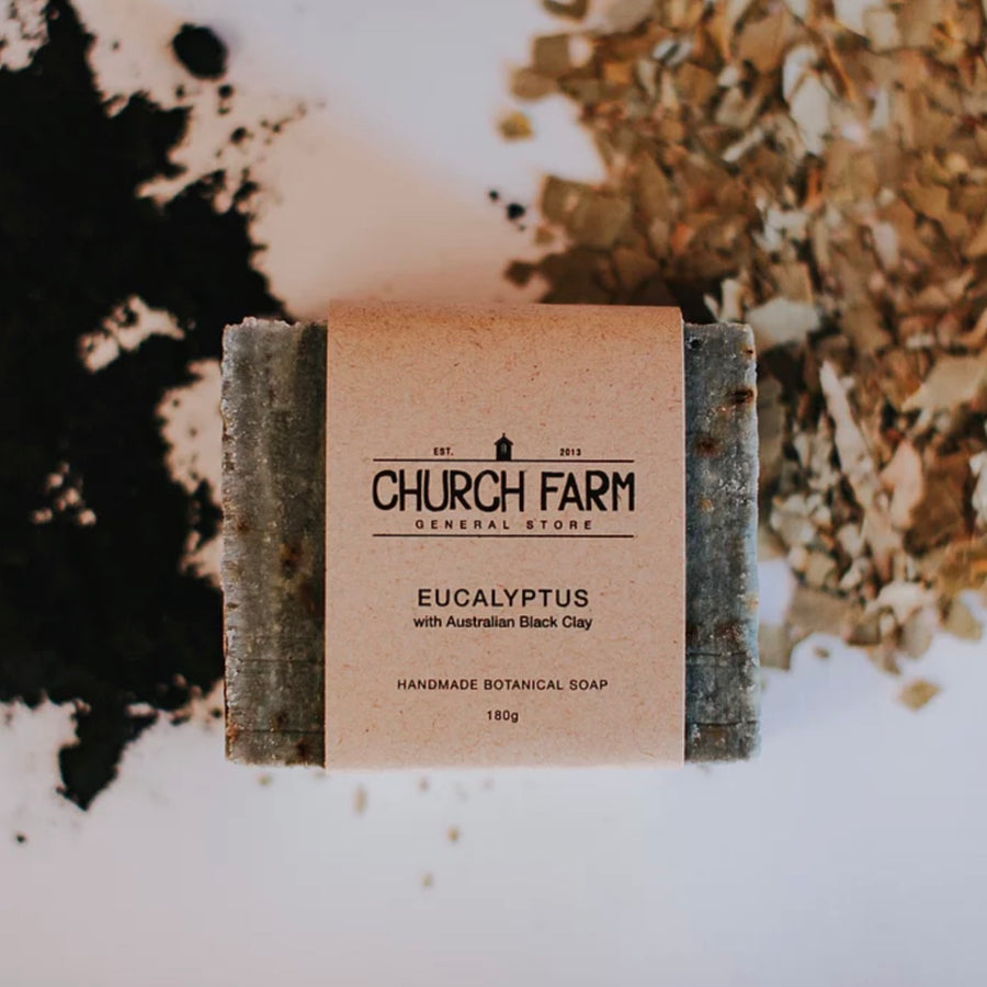 Church Farm Organic Natural Botanical Soap Australian