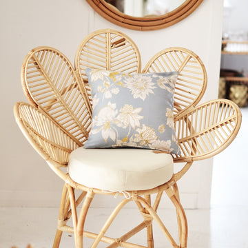 Flower Petal Rattan Chair