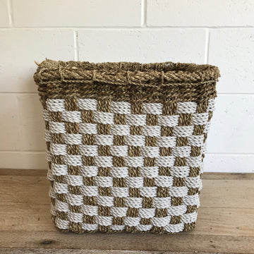 Small Square Woven Basket