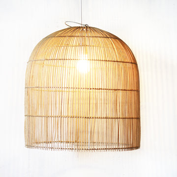 Medium Coastal Rattan Pendant