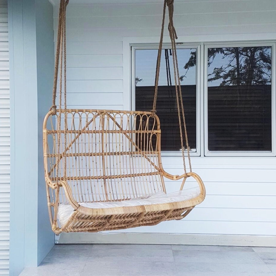 Lover Rattan Hanging Chair Paradise Living Co