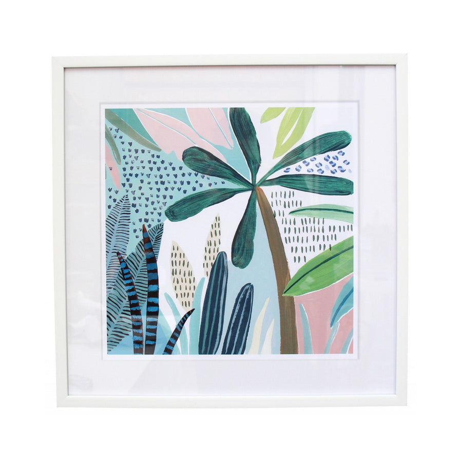In the Jungle Framed Prints 45x45cm