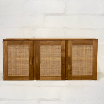 Palms Rattan & Timber Sideboard 120cm L